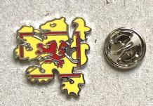 SCOTLAND LION CUT-OUT - PIN BADGE